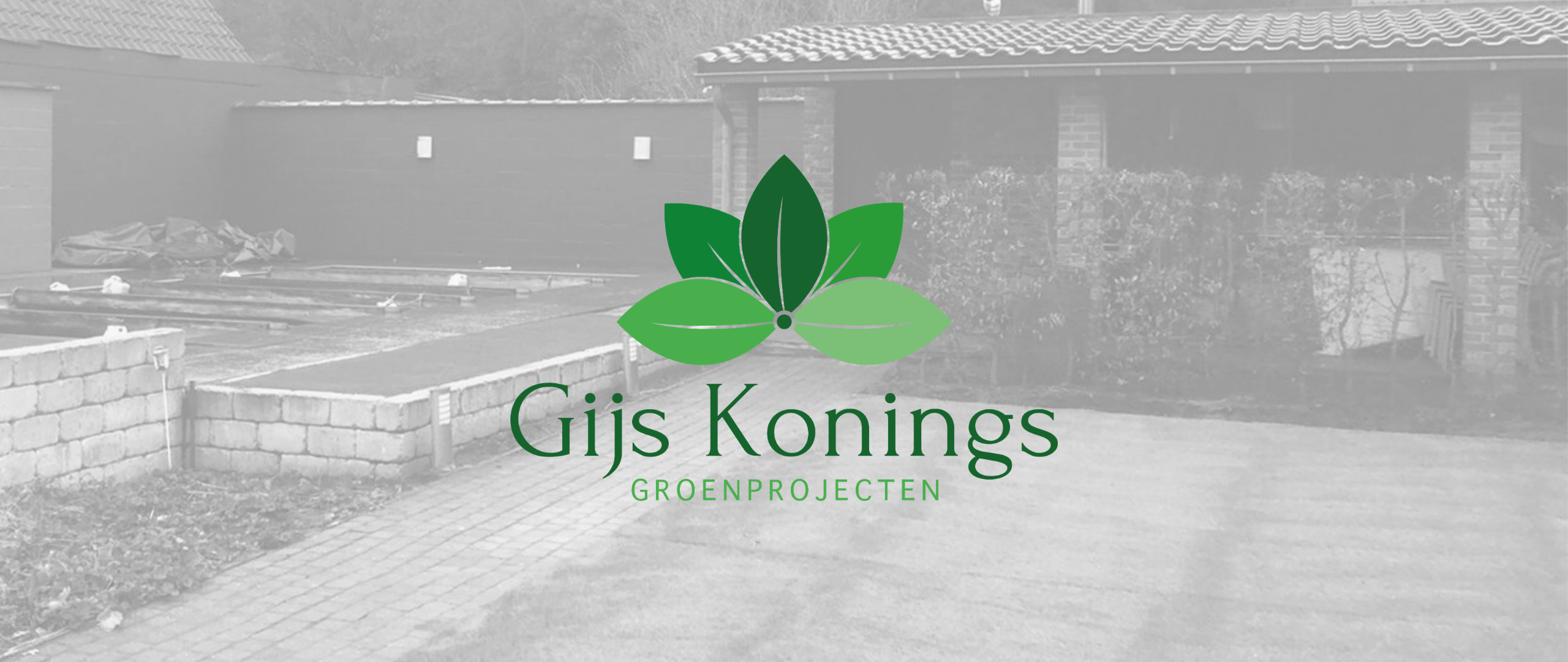 Welkom bij Gijs Konings Groenprojecten